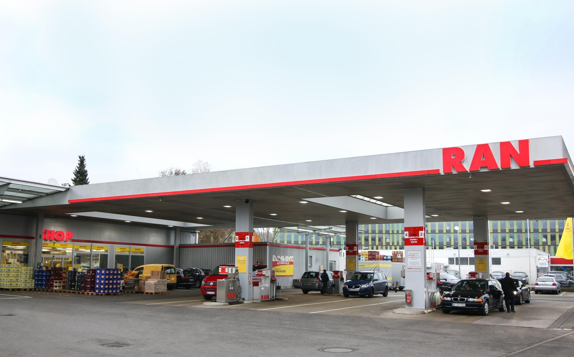 Ran Tankstelle Biberach